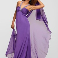 Clarisse 2173 Halter Evening Gown