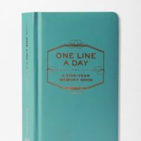 UrbanOutfitters.com > One Line a Day: A Five-Year Memory Book