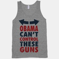 Obama Can't Control These Guns Tank