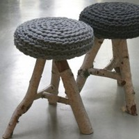 Stool Birch - €0.00 : le souk, unique living
