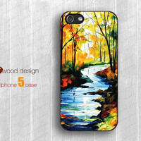 autumn stream iphone 5 case soft rubber iphone 5 cases hard iphone 4 4s cover unique case design