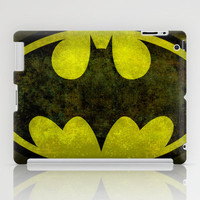 BATMAN logo early 90's iPad Case by Bruce Stanfield