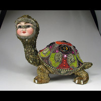 George the Tortoise by Betsy Youngquist by betsyyoungquist on Etsy