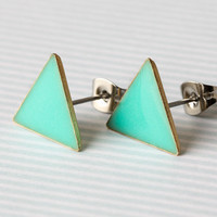 Fashion Mint Green Earring