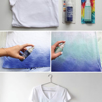 I Spy DIY: MY DIY | Ombre T