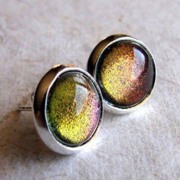 Dragon's Eye Stud Earrings