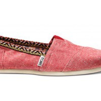 Red Chambray Trim Women's Classics