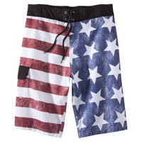 Men's Vintage Flag Board Shorts
