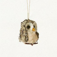 terrain: Belly Owl Ornament