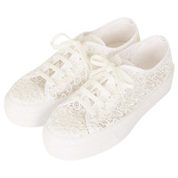 Tang Lace Flatforms - Flats - Shoes - Topshop USA