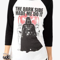 The Dark Side Baseball Top | FOREVER 21 - 2021840330