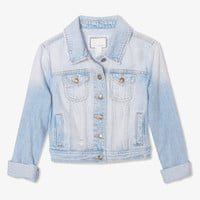 Lightly Faded Denim Jacket