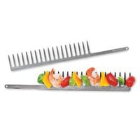 Grill Comb, Metal Skewer, Kabob Maker | Solutions