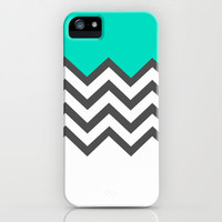 Color Blocked Chevron 9 iPhone & iPod Case by Josrick