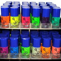 Color Glow In The Dark Nail Lacquer Nail Polish Combo Set