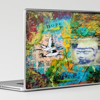 Hope and Patience Laptop & iPad Skin by kathleentennant | Society6