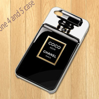 White Coco Perfume iPhone 4/4S iPhone 5 Hard Case