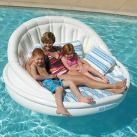 Solstice Aqua Sofa With Instaflate System:Amazon:Toys & Games