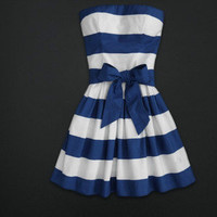 point bowknot waistband tee dress