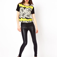 Beloved Tegan Stretch Coated Trouser at asos.com