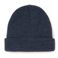 DENIM SALT AND PEPPER BEANIE