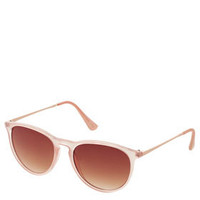 Rubber Preppy Metal Arm Sunglasses - Aviators & Flat Top Sunglasses - Sunglasses  - Bags & Accessories