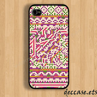 IPHONE 5 CASE aztec native tribal iPhone 4 case iPhone 4S case iPhone case Hard Plastic Case Soft Rubber Case
