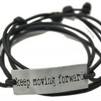 Keep Moving Forward Wrap Bracelet - $64.00 : Diana Warner Studio, The Marriage of Art & Fashion
