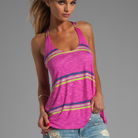 Splendid Hermosa Slub Stripe Tank in Parfait from REVOLVEclothing.com