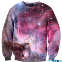 Milky Way Galaxy Crew Neck | fresh-tops.com
