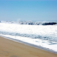 Ocean Waves Photograph, 8x10 Print, Coastal, Unique Art, Beach Decor, Photograph, Affordable Wall Art