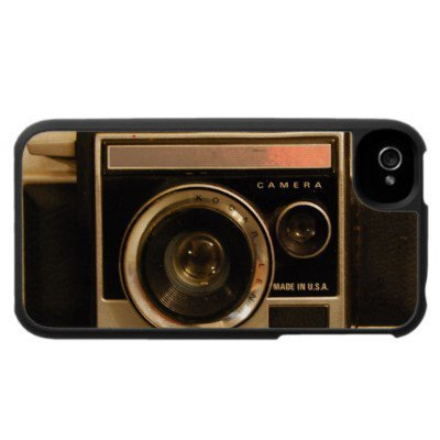 INSTAMATIC RETRO CAMERA iPhone Case from Zazzle.com