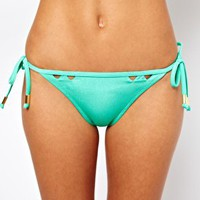 River Island Cut Out Bikini Brief at asos.com