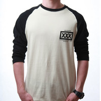 10Deep Big 10 Raglan T-shirt - Black