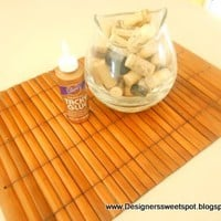 Designers Sweet Spot: 31 Days of Pintrest DIY: Day 15 Cork Bathmat