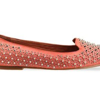 Jeffrey Campbell Martini Spike in Coral at Solestruck.com