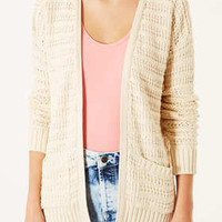 Knitted Step Hem Cardi - New In This Week  - New In