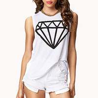 Basic Diamond Muscle Tee | FOREVER 21 - 2075661965