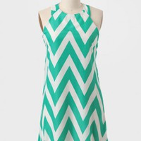 New Path Chevron Dress