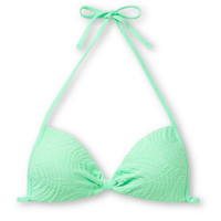 Empyre Girls Variant Mint Green Crochet Molded Cup Bikini Top