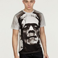 Christopher Kane Men's Grey Frankenstein T-Shirt
