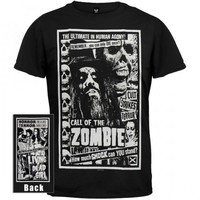Rob Zombie Official Call of the Zombie Shirt