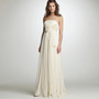Chiffon Augusta wedding gown