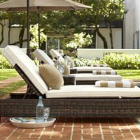 Torrey All-Weather Wicker Single Chaise