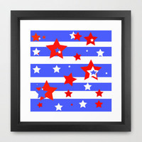 Independence Framed Art Print by Rosie Brown