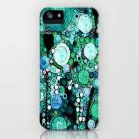 :: Periwinkles n' Poppies   :: iPhone & iPod Case by GaleStorm Artworks