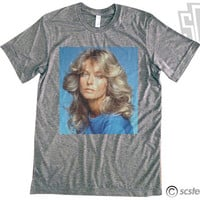Farrah Fawcett Vintage Photo T Shirt