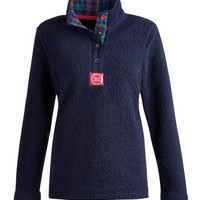 Navy Joules outlet Womens Fleece  | Joules UK