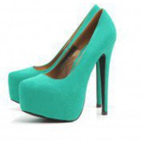 Faux Suede Platform Shoe - AX Paris