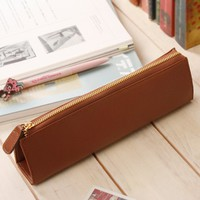 Genuine Leather Pen Case